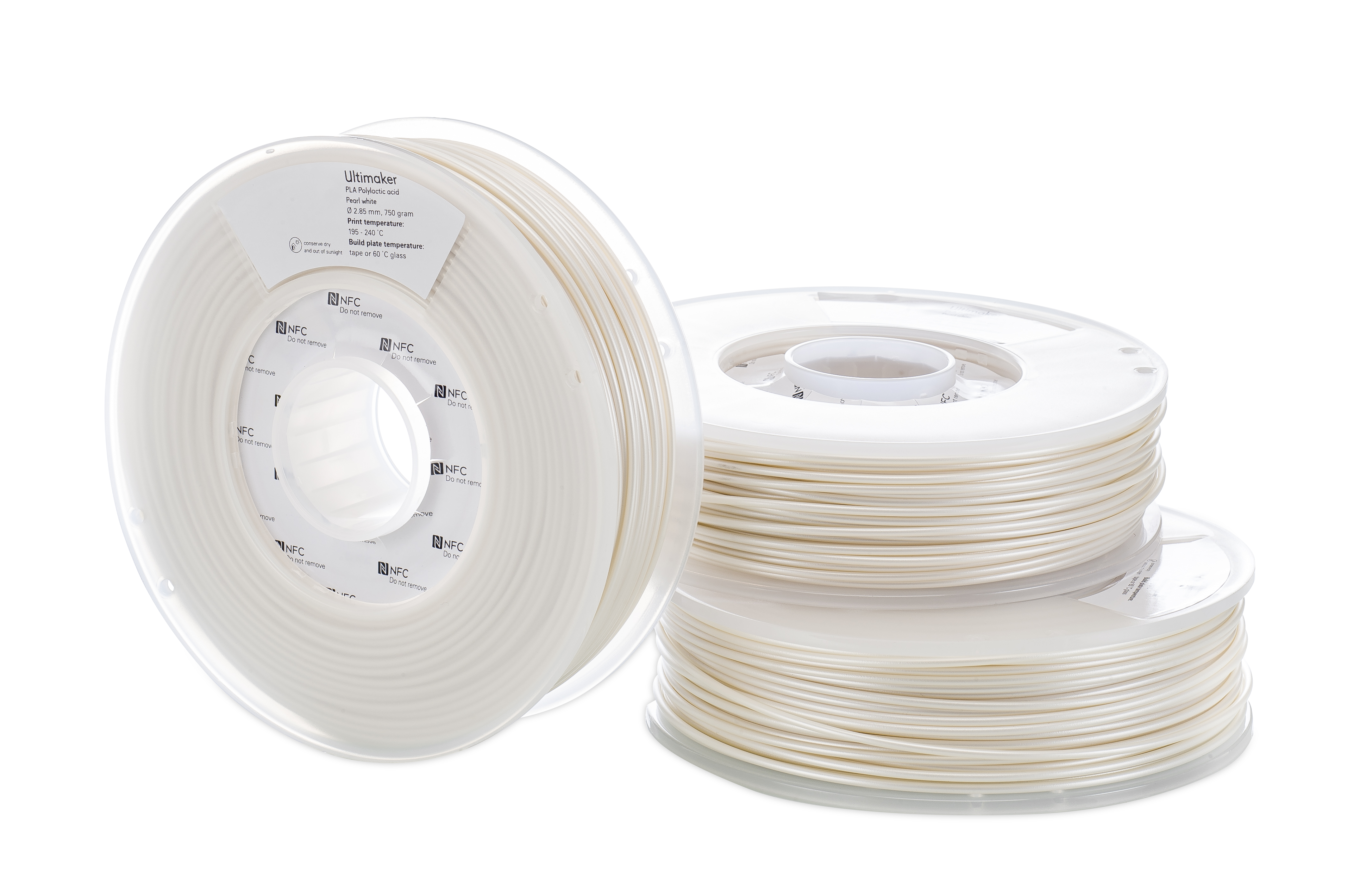 Ultimaker PLA Pearl White (NFC) - 750g