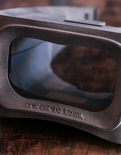 VR glasses Tele2, 3D print, Local Makers Amsterdam